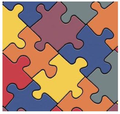 Paper jigsaw puzzle